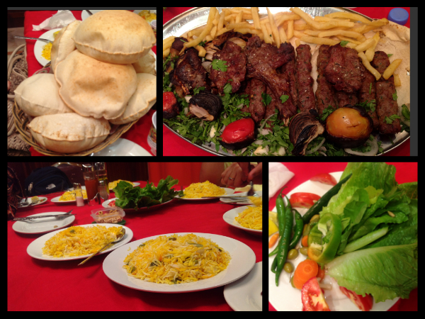 Arabic food chazsm for Arabian cuisine menu